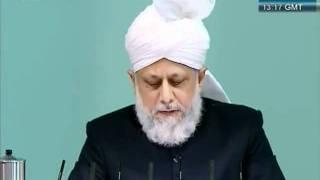 Urdu Friday Sermon 4 November 2011, Blessings of Financial Sacrifice by Ahmadiyya Muslim_clip4.flv