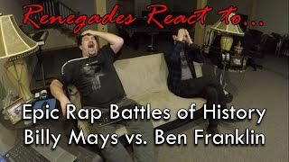 Renegades React to... Epic Rap Battles of History - Billy Mays vs. Ben Franklin