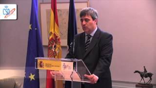 La selección española de waterpolo visita la casa del deporte español