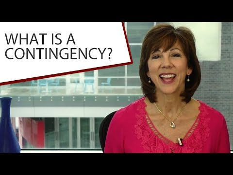 St. Louis Metro Area Real Estate: What is a contingency?