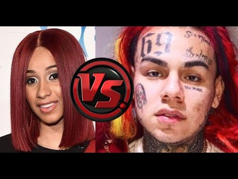 Cardi B REACTS to 6IX9INE Interview Claiming He is Hottest in NYC and Sends Shade  | Allegedly