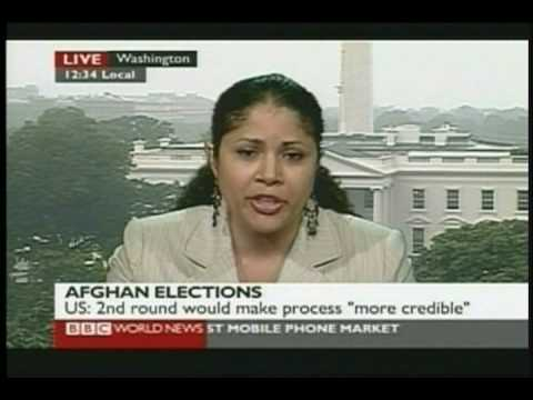 Malou Innocent discusses the Afghan Elections