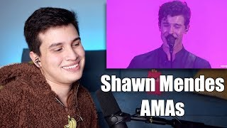 Vocal Coach Reaction to Shawn Mendes' AMAs