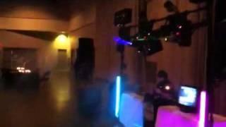 DJ system at Bismarck bridal show