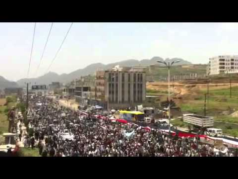 By our blood and souls dearest of IBB to tiaz city yemen  30_5_2011