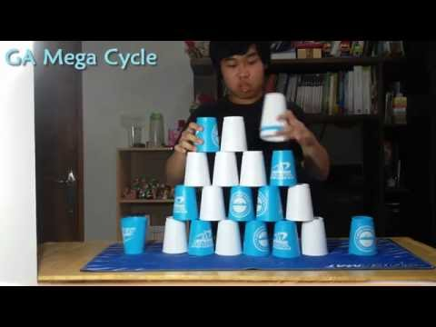 Sport Stacking: Freestyle Stacking (2016 Edition)