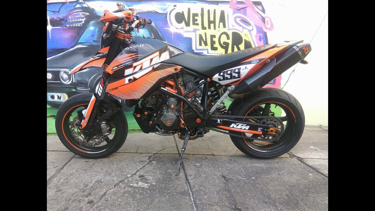 ktm 950 supermoto sm prototype rc8r youtube. Black Bedroom Furniture Sets. Home Design Ideas