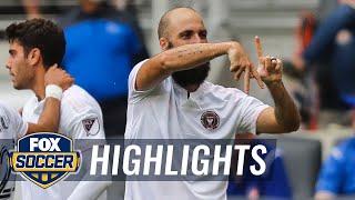 Inter Miami tops FC Cincinnati, 3-2, as Gonzalo Higuaín provides game winner   2021 MLS Highlights