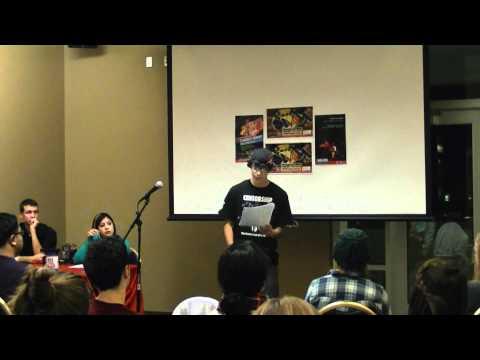 "Thomas Aviles - ""Awake"" Poetry Slam University of Arizona"