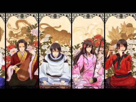 [APH] Asia - Mosura no Uta (Mothra's Song)