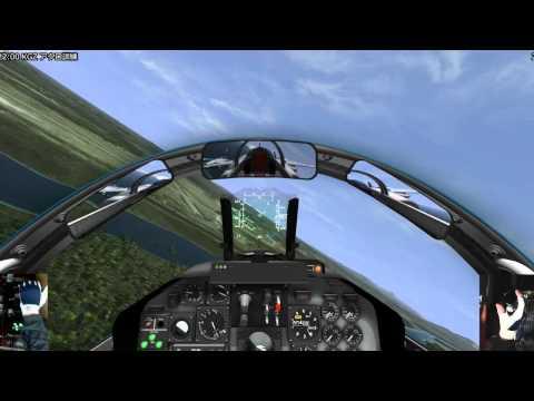 """(IL-2)  """"JASDF BlueImpulse""""  T-4 Acrobat training"""