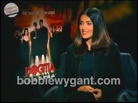 """Salma Hayek """"Dogma"""" 10/3/99 – Bobbie Wygant Archive"""