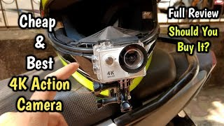 Best Affordable Action Camera Only Rs.2,500 | Eken H9R Full Review