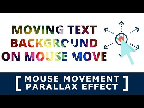 Online Tutorial for Mouse Movement Parallax Effect in jQuery With Demo thumbnail