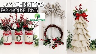 DOLLAR TREE CHRISTMAS 2019 | CHRISTMAS FARMHOUSE DIY's