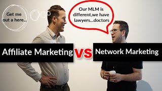 Affiliate Marketing vs Network Marketing - The Pros And Cons!