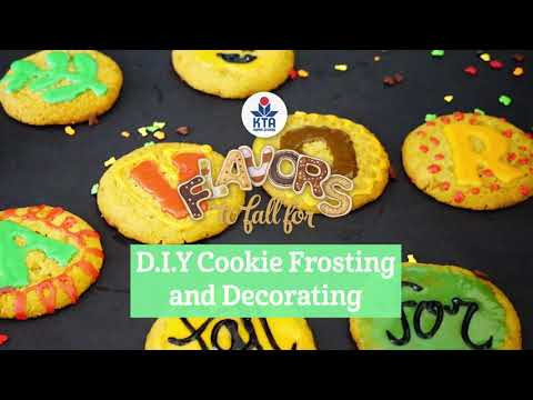 D.I.Y Cookie Frosting & Decorating