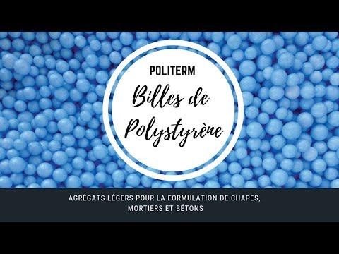 La Base Politerm Agregats Legers Pour La Formulation De Chapes Mortiers Et Betons Youtube