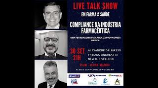 TALK SHOW - 30 SETEMBRO 2020 - COMPLIANCE NA INDÚSTRIA FARMACÊUTICA