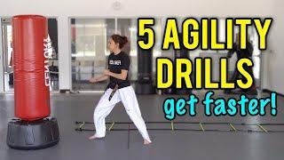 5 Agility Drills to Help Improve Your Speed   Taekwondo / Martial Arts
