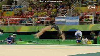 Elisa Meneghini ITA Qual Fx Olympics Rio 2016