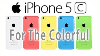 Apple - Introducing iPhone 5c - For the colorful.