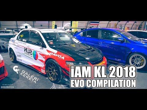 Best Compilation of Lancer Evolution at iAM Kuala Lumpur 2018
