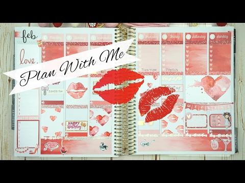 Plan With Me / Feb 6-12 / Erin Condren / ft.TheCraftyBanana