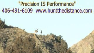 Instant kill Mule Deer doe - Southeast Montana