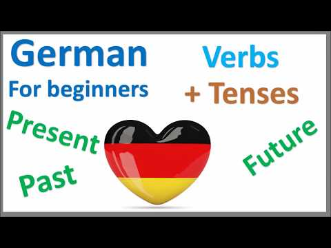 German Verbs | Present, Past & Future Tense| Learn by Example
