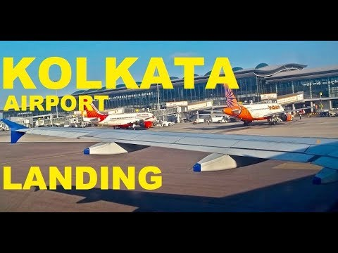 Landing on Netaji Subhas Chandra Bose International Airport Kolkata