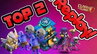 TOP 2 TH12 WAR BASE 2018 Anti 2 Star With +Replays Anti Bowler Miner,E-Dragon,Anti Queen Walk |Coc