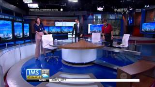 Anchor Indonesia Morning Show Menari Ala Gangnam Style -IMS