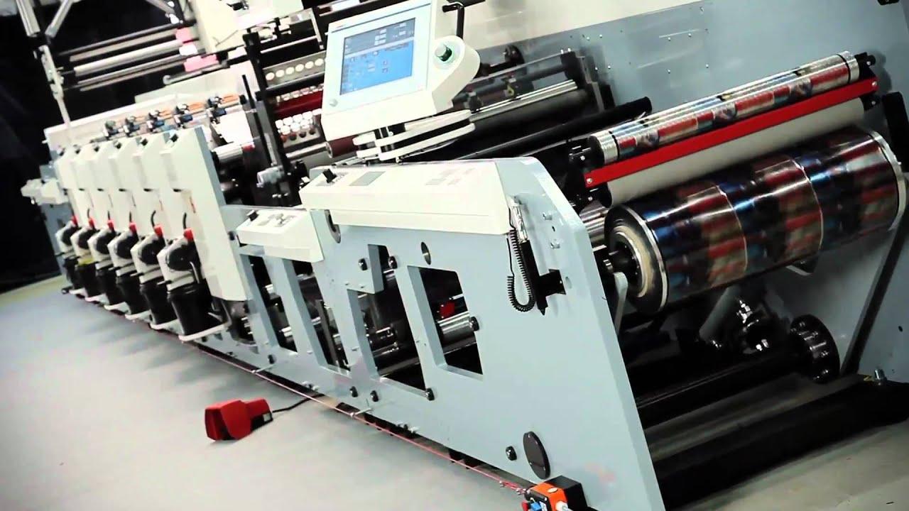Indigo Car Wallpaper Mps Flexo Printing Press Exl Packaging Youtube