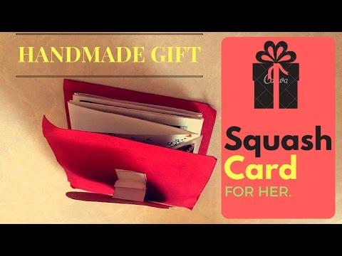 DIY: A BEAUTIFUL HANDMADE SQUASH CARD || EASY TO MAKE