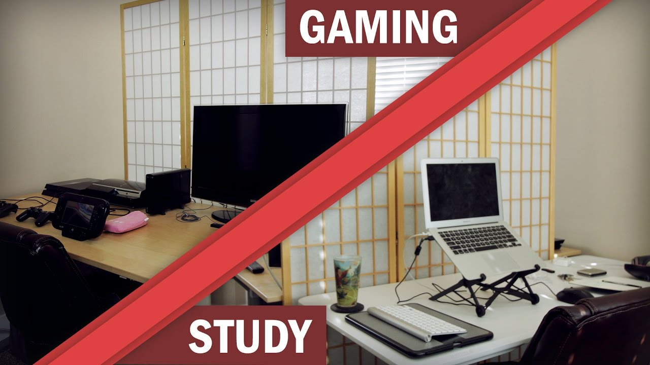 How to create a study space in your room youtube for Build your room