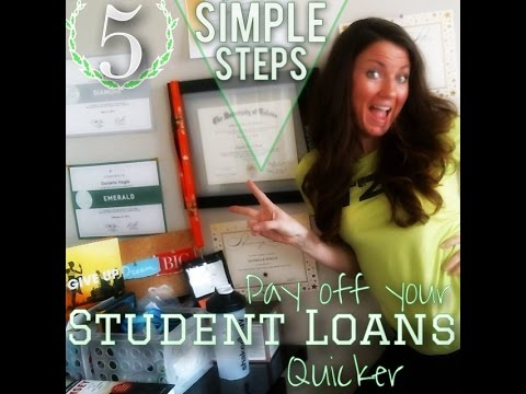 Secrets To Paying Off School Loans Quick from YouTube · Duration:  3 minutes 54 seconds  · 166 views · uploaded on 5/13/2013 · uploaded by Make Money