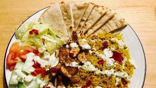 halal cart style gyro chicken easy