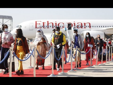 Operation Tzur Israel - 416 New Immigrants From Ethiopia Arrive In Israel!