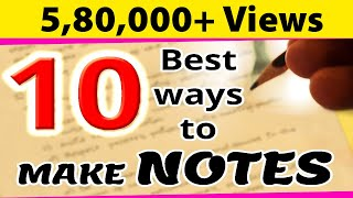 How To Make Notes During Exams? | Last Minute Revision Tips | Exam Tips | LetsTute