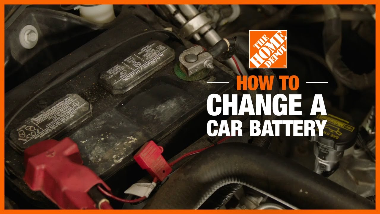 How to Change a Car Battery - The Home Depot