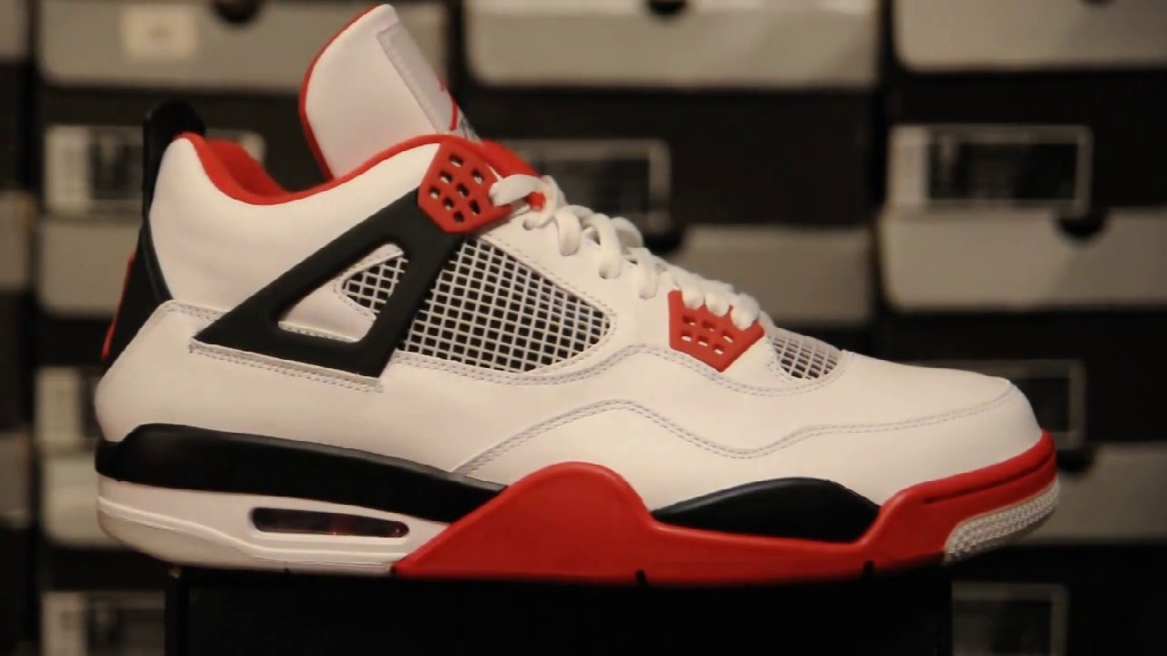 8197bab0284f4 2012 Air Jordan 4 (IV) Retro ''Fire Red'' (308497 110)