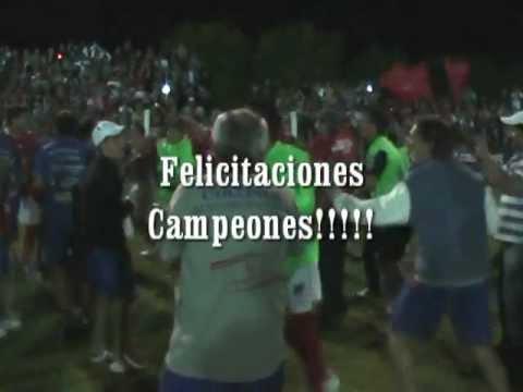 Fútbol Colonia sub 18 Campeón Nacional.mpg