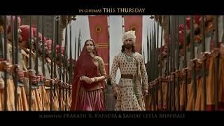 Padmaavat   In Cinemas This Thursday   Ranveer Singh   Deepika Padukone   Shahid Kapoor thumbnail