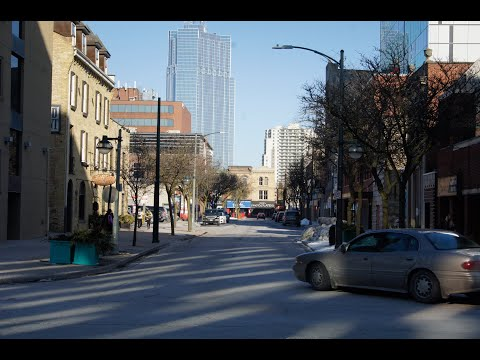 London, Ontario, Canada - SHORT DRIVING & WALKING TOUR