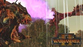 THE DREAD DRAGON - Chaos vs Norsca // Total War: Warhammer II Online Battle