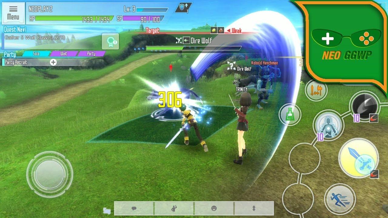 sword art online ios game