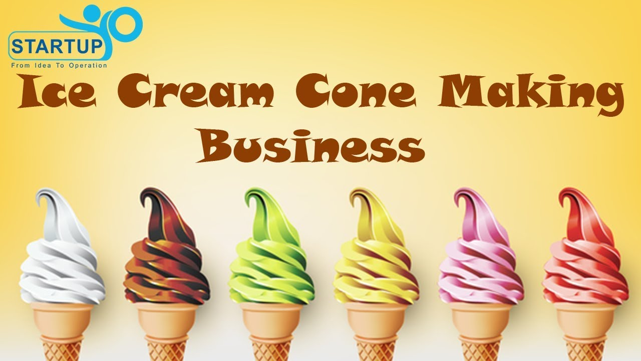 Ice cream cone making business startupyo youtube ice cream cone making business startupyo ccuart Image collections