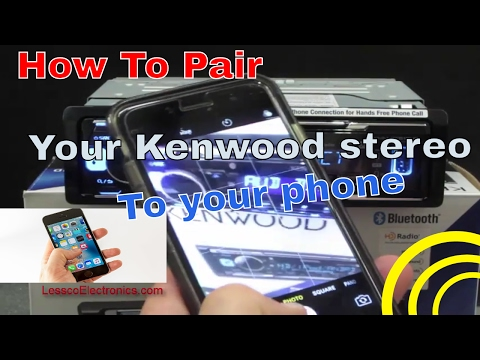 How to pair bluetooth to your Kenwood stereo