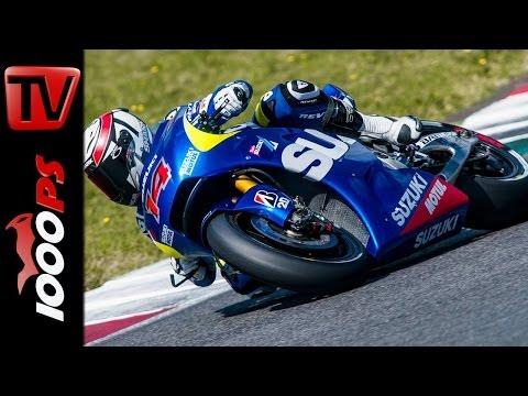SUZUKI - MotoGP Test in Barcelona
